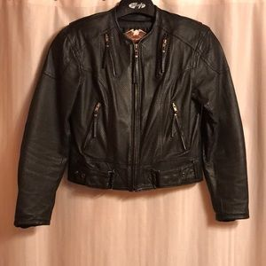 Harley Davidson Women's Leather Summer Jacket